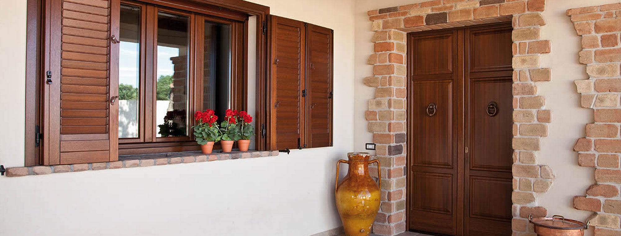 Come decorare le finestre in modo rustico